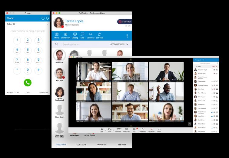 CallSwitch Communicator Video Call Meeting