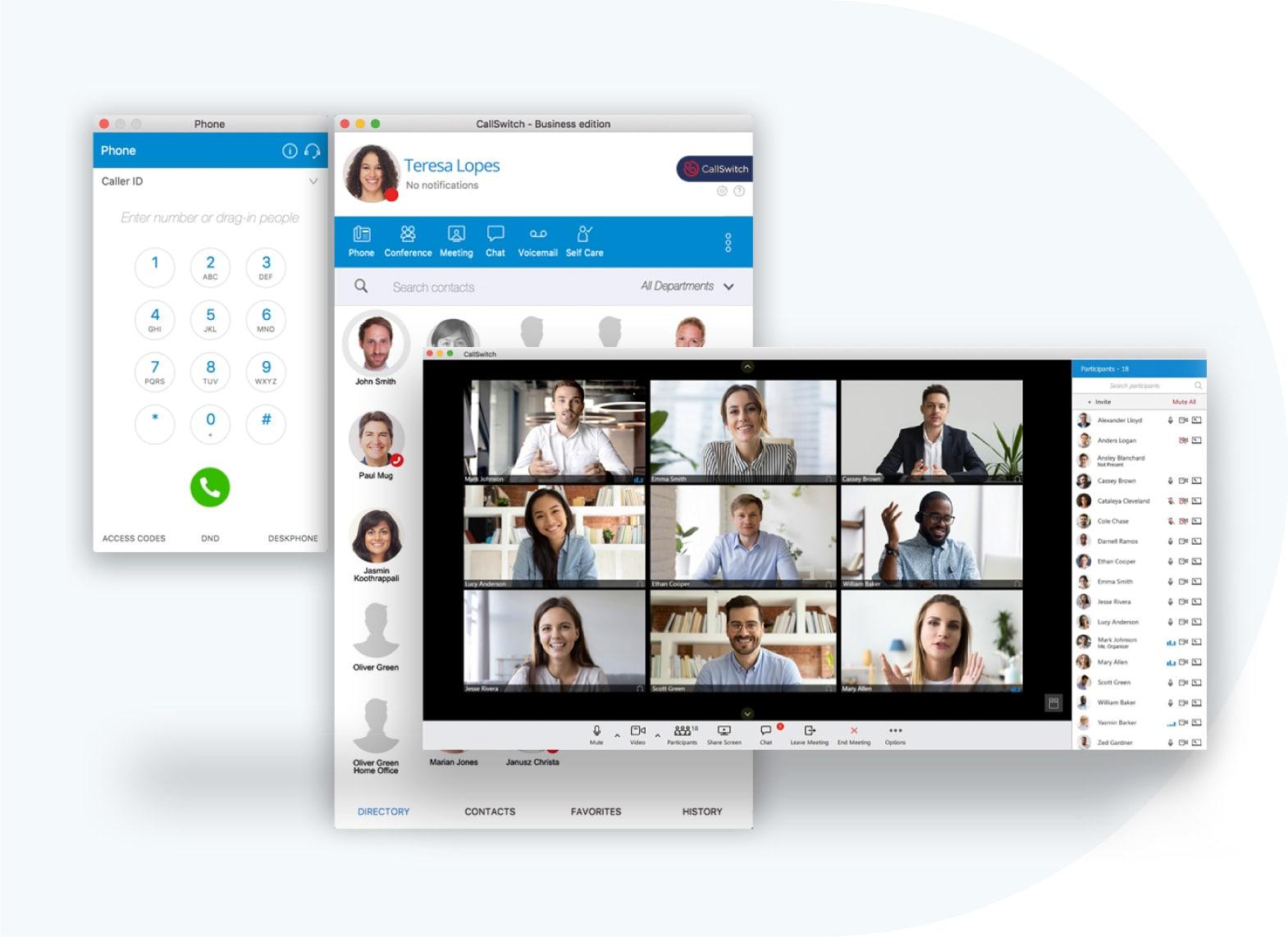 CallSwitch Communicator phone system UCaaS