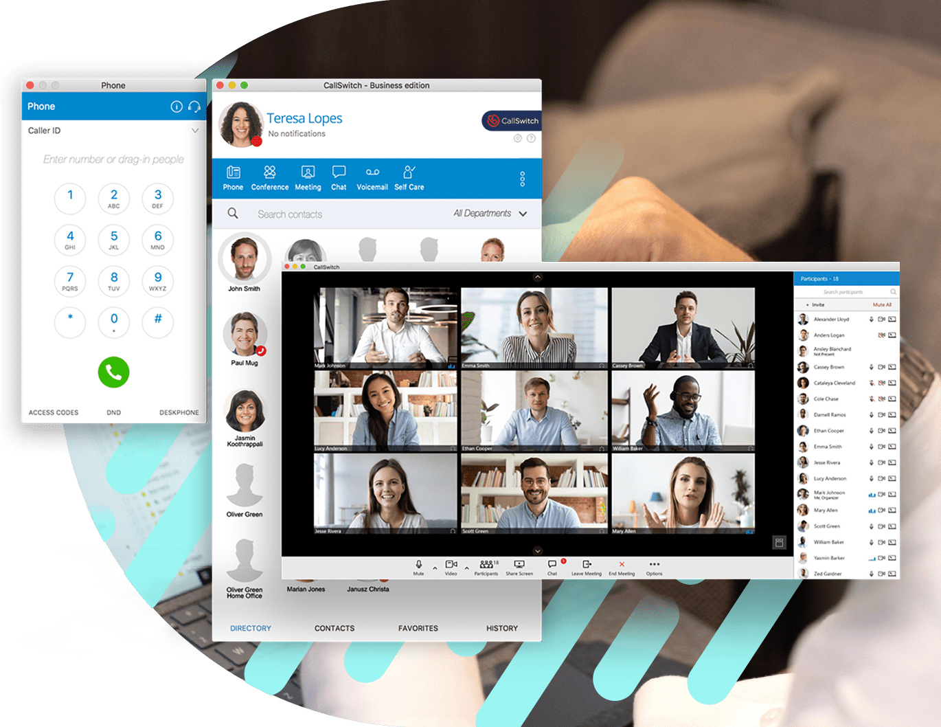 CallSwitch Business unified communication solution software